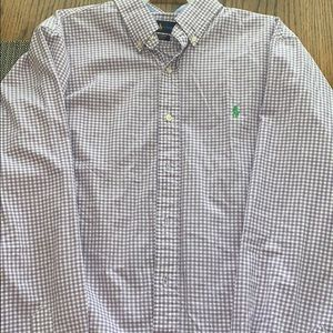 Men's Polo Lauren Large Button Down